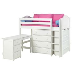 Rosenberry Rooms has everything imaginable for your child's room! Share the news and get $20 Off  your purchase! (*Minimum purchase required.) Reagan Mid Loft with Dressers, Bookcase and Desk