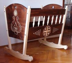 wow I want this  Hungarian baby cradle papa made this for us