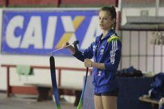 Morgana, ginasta brasileira - Foto: Reprodução