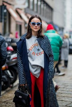 fall street style outfits to inspire style уличная мода, Milan Fashion Week Street Style, Looks Street Style, Autumn Street Style, Cool Street Fashion, Street Chic, Street Style Women, Look Fashion, Winter Fashion, Fashion Outfits