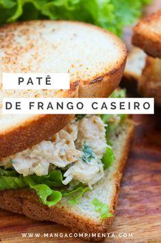 Patê de Frango Caseiro Delicioso!