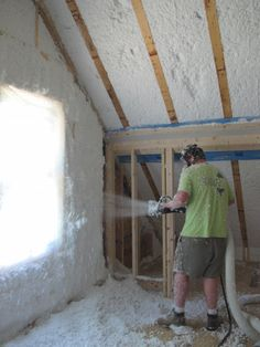 Diy spray foam insulation design pinterest spray foam getting to know spider insulation solutioingenieria Image collections