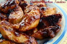 Cracker Barrel Grilled Chicken Tenderloins {Without the Grill}