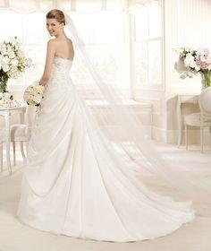 MERLIN » Wedding Dresses » 2013 Glamour Collection » La Sposa (back)