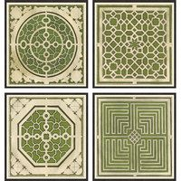 Formal gardens: plans in green. Garden Design Plans, Garden Landscape Design, Organic Container Gardening, Boxwood Garden, Vegetable Garden Planning, Mediterranean Garden, Landscape Plans, Parcs, Garden Structures
