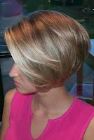 full volume short blonde bob