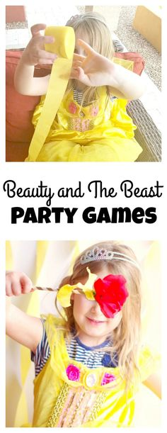 Beauty and The Beast Party Games