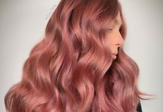 If you love pink like we love pink, then you'll love these various tones of rose gold. These colors are brought to you by the colorists themselves!