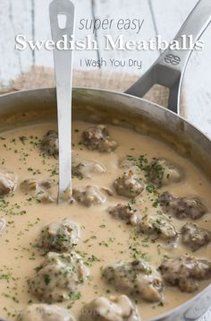 Watch out IKEA! I'm sharing these super easy Swedish Meatballs thatare ready in less than 15 minutes and sure to knock your socks off!