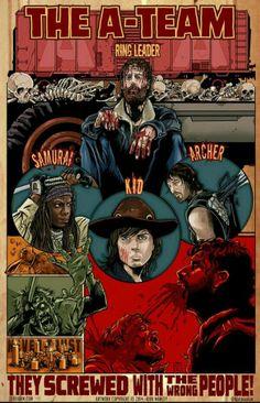 The A-Team..The Walking Dead Season 4