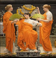Midsummer, 1887 by Albert Moore