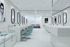 HAIRLAB Commercial Design, Projects, Log Projects