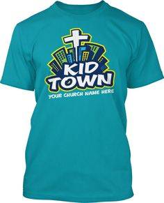 Kid Town Childrens Ministry Logo #253