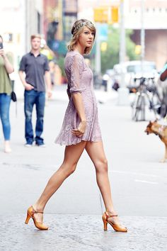 Taylor Swift's Free People Dress Is Exactly What You're Looking For via @WhoWhatWear