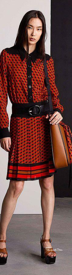 Michael Kors Collection Resort 2016 ♔ Très Haute Diva ♔ www.style.com/...