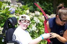 #Specialneeds #summercamp #archery #sports #outdoors #children