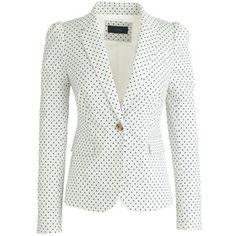 Summer jacket puff sleeves