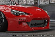 Rocket Bunny Scion FR-S 2013- Rocket Bunny 86 Aero, Ver.2 - Front Splitter (only)