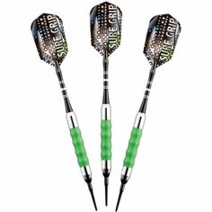 Viper Sure Grip Green Soft Tip Darts, 18g