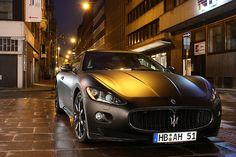 Matte Black Maserati