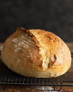 Biely kváskový chlieb - Chuť od Naty : Blog o chutnom jedle a kvalitnom... Savoury Dishes, Food And Drink, Cooking, Basket, Brot, Kitchen, Brewing, Cuisine, Cook