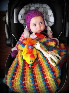 Knitter's Baby: links for the bonnet, mitts, cardigan, and blanket. | knittedbliss.com