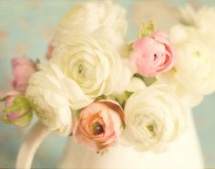 Ranunculus- I'm in love w these flowers. Question now is how can I work them into my wedding??? Colors ah!