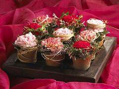 ein Arrangement | Florale Geschenke | Pinterest
