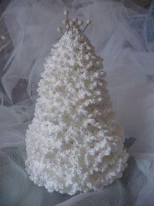 Albero Di Natale Alluncinetto Lavoro Alluncinetto Crochet