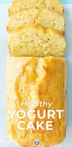 Healthy Cake Recipes, Delicious Cake Recipes, Pound Cake Recipes, Cupcake Recipes, Healthy Desserts, Baking Recipes, Sweet Recipes, Cupcake Cakes, Healthy Breads