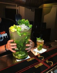 Now that's a Mojito!