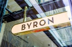 Charlie Smith Design — Byron Signage