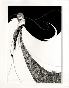 Aubrey Beardsley- Art Noveau Artist Aubrey Vincent Beardsley was an English illustrator and author. His drawings in black ink, influenced by the style of Japanese woodcuts, emphasized the grotesque, the decadent, and the erotic.