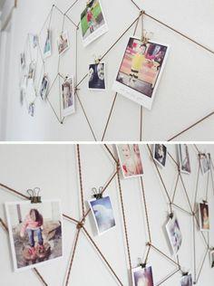 comment décorer une chambre ado fille avec des photos