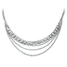 Dyrberg Kern Rhodium-Plated Crystal Necklace http://pixiie.net/shop/dyrberg-kern-rhodium-plated-crystal-necklace/