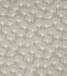 Eaton Square Hoover-Stone Floral upholstery fabric
