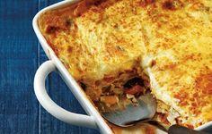 pastitsio me kota Greek Recipes, Desert Recipes, Rice Pasta, Food Categories, Pasta Recipes, Lasagna, Macaroni And Cheese, Main Dishes, Vegetarian Recipes