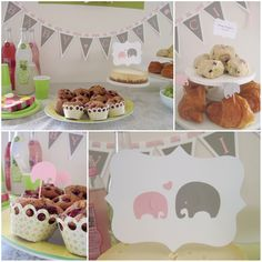 Girl Baby Shower Themes | If you are looking for the Silhouette giveaway, click here .