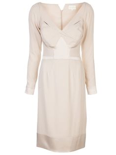 ZAC POSEN Twisted Detail Dress