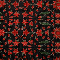 Lost City Products | Hand Embroidered Fabrics | Silk | Jewel SL107