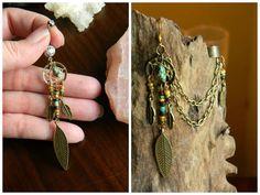 Tribal Rustic Dream catcher Jewelry Set with by CLeasBeadwork, $32.50