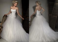 Strapless White Wedding Dresses Picture With   On Wedding Ideas