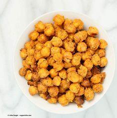 Roasted Masala Chickpeas - Vegan Richa