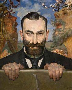 Jacek Malczewski, Portret Feliksa Jasieńskiego, 1903