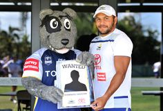 Boots - North Queensland Cowboys' mascot