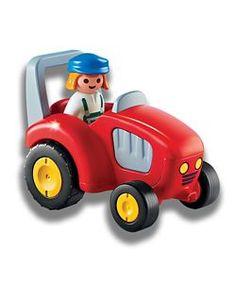 Playmobil 1.2.3. Tractor Set