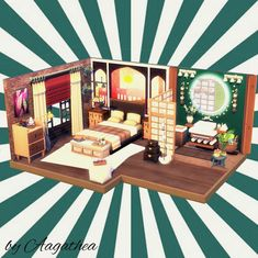 The Sims 4 creations by agathea Floor Plan 4 Bedroom, Sims 4 Bedroom, Sims 4 House Design, Sims House Plans, Casas The Sims 4, Sims Building, Best Sims, David Sims, Sims 4 Cc Furniture