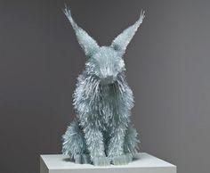 glass shard art - Google Search