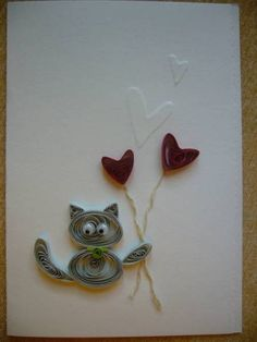 Cat - Quilled Creations Quilling Gallery