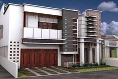 desain rumah minimalis 2 lantai 025 gambar rumah pinterest